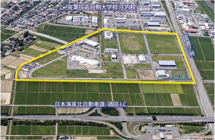 酒田京田西工業団地|酒田市企業立地ガイド